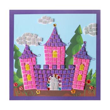 立体eva粘贴画城堡