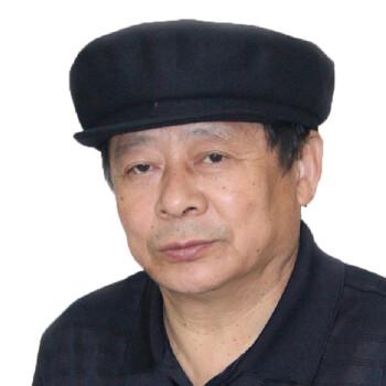 盛锡福秋冬款中老年男士兰呢短沿圆顶帽子 深蓝色 55cm
