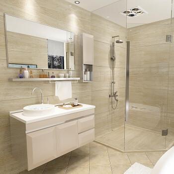 手面复古面盆风格小户型洗脸盆脸面洗手池迷你公分组合柜卫生间浴室柜