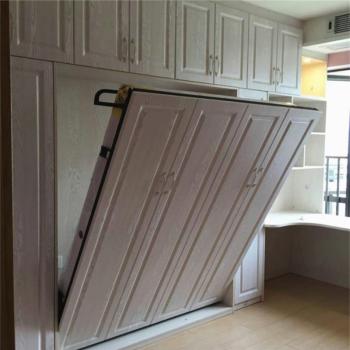 阳台/户外 折叠床 踏雪寻梅 壁床隐形床折叠床正翻床翻板床床壁柜床隐