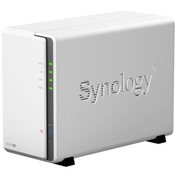 群晖(Synology) DS214se 2盘位 NAS网络存储服务器 (无内置硬盘)