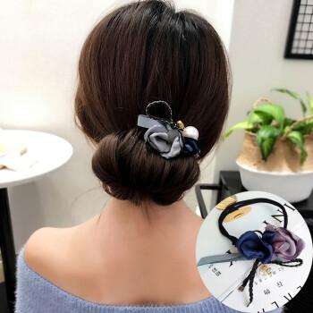 韩国丸子头盘发器造型器百变蓬松懒人扎头发饰品花苞头发饰头饰品 f图片