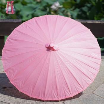 手工绘画伞幼儿园儿童diy 白色油纸伞 手绘玩具工艺伞