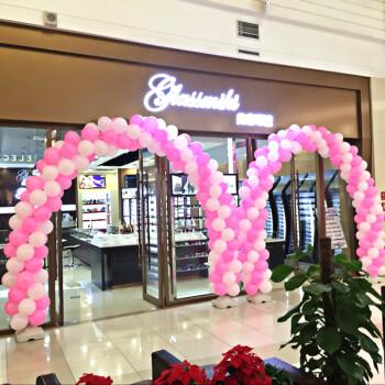 气球装饰结婚庆店铺开业庆典气球拱门可拆卸支架婚礼室外场景布置 l款图片