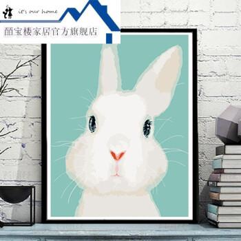 兔子玩偶手绘素描