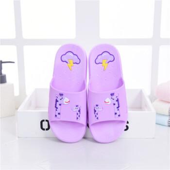 小猪佩奇子拖鞋夏季一家三口室内家用防滑可爱男女儿童母女 亲子