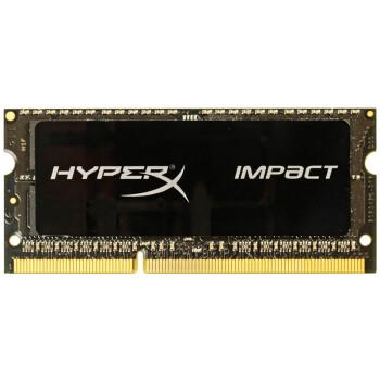 金士顿(Kingston)骇客神条 Impact系列 DDR3L 1600 8GB笔记本内存(HX316LS9IB/8)