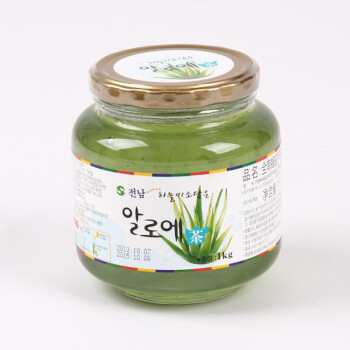 韩国进口 韩国全南蜂蜜芦荟茶 1kg