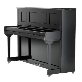 HARRODSER(哈罗德) H-5系列原装进口125立式钢琴 送货到家 全国联保 H-5 典雅黑