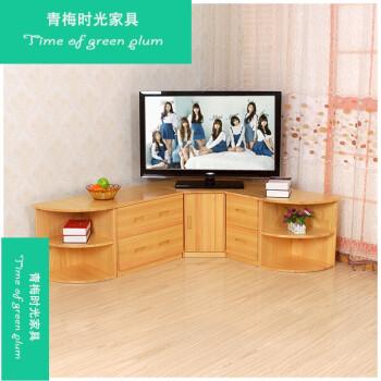 实木转角电视柜客厅墙角电视柜农村老人老式电视柜厨房矮柜地柜 160*