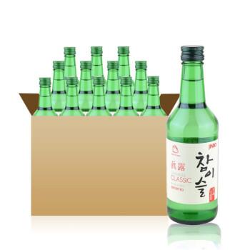 真露竹炭烧酒360ml*20 20.1度 韩国 进口洋酒 酒仙网特价 酒