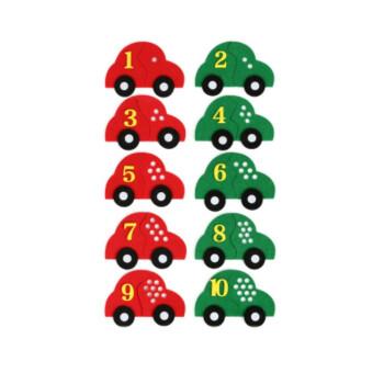 幼儿园区域区角不织布数学数字益智手工作业教具玩具早教自制材料图片