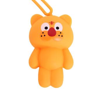 2018新款时尚女包韩国超萌可爱动物小熊创意卡通硅胶钥匙包防刮花多