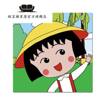 皕宝楼diy数字油画 卡通动漫人物儿童益智手绘填色油彩装饰画 可爱图片
