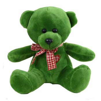 泰迪熊RUSS五彩小熊毛绒玩具熊熊布娃娃小号公仔车摆玩偶20厘米 图片