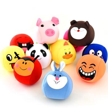 幼儿园儿童沙包卡通小动物笑脸沙包软海绵大沙包沙袋丢沙包口袋 动物