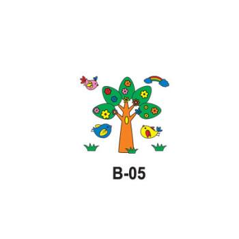 环保袋涂鸦 儿童手工制作材料包绘画无纺布袋子幼儿园
