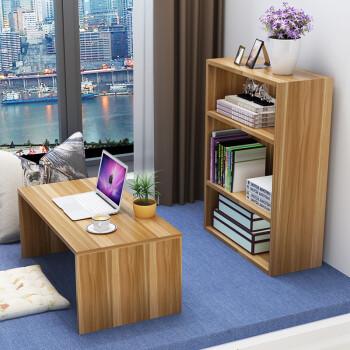 飘窗笔记本电脑桌阳台榻榻米桌子窗台小茶几飘窗书柜炕桌电脑桌学习桌