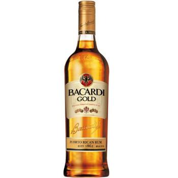 Bacardi百加得金朗姆酒 750ml