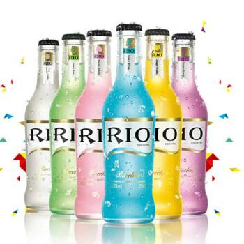 RIO 锐澳 鸡尾酒 预调鸡尾酒 275ml*6 超级组合(6支套装) 6种不同口味缤纷装