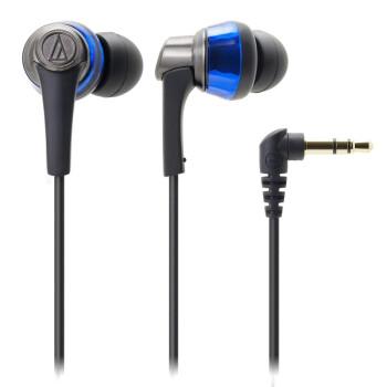 铁三角 ATH-CKR5 BL 入耳式耳机 蓝色