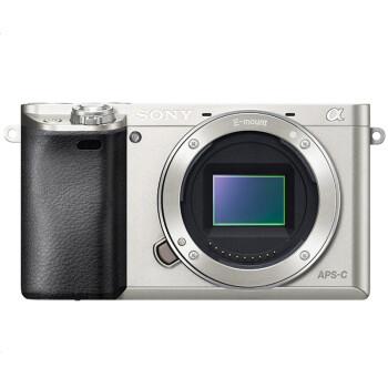 索尼(Sony) ILCE-6000/B 单机身 微单数码相机