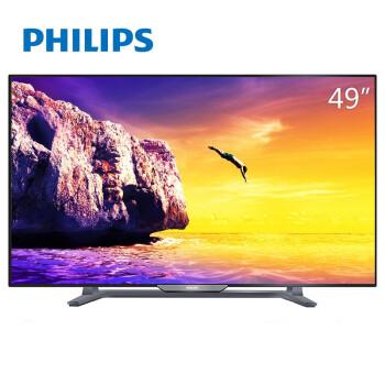 飞利浦(PHILIPS)49PFF5755/T3 49英寸 芒果TV 全高清LED智能电视(黑色)