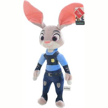 澳捷尔 疯狂动物城公仔兔子朱迪狐狸尼克毛绒玩具布娃娃玩偶 朱迪 12