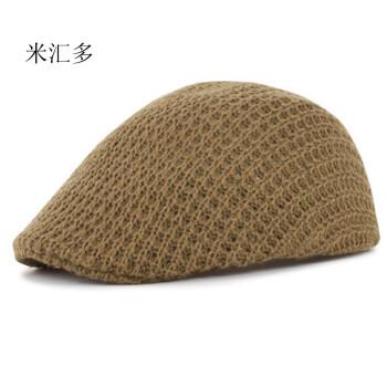帽子男士夏韩版潮户外太阳帽中老年帽夏鸭舌帽老人帽夏季爸爸帽子