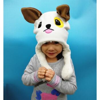 动耳朵的帽子会动耳朵的兔子帽子加绒动物帽子的兔子帽时尚美观潮流帽