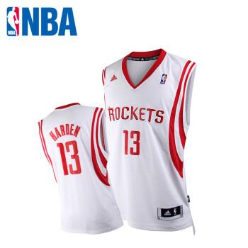NBA 阿迪达斯 火箭队 哈登swingman主场球衣 篮球服 篮球背心ADS图片