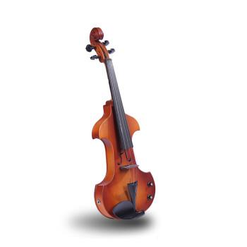 档枣木配件手工电子小提琴 实木电声小提琴 白色 4 4
