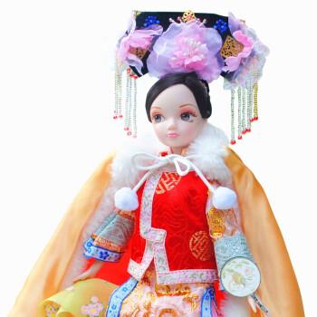可儿娃娃古代公主系列古典中国风民族服饰清朝公主明珠格格/9036
