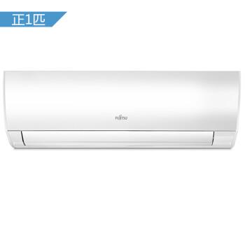 富士通 正1匹 2级能效 全直流变频 壁挂式家用冷暖空调(白色)ASQG09LMCA(KFR-25GW/Bpma)