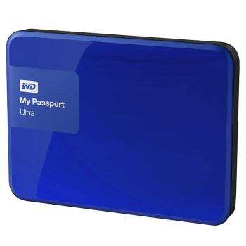 西部数据(WD)My Passport Ultra 升级版 2TB 2.5英寸  移动硬盘 WDBBKD0020BBL