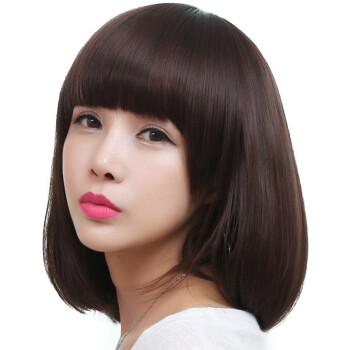 小苏妞假发 假发女短发波波头短直发 沙宣短发 学生头 齐刘海女生蓬松