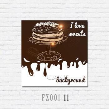 咖啡馆墙面挂画甜品奶茶店墙壁装饰画餐厅宣传画休闲吧创意海报图 11