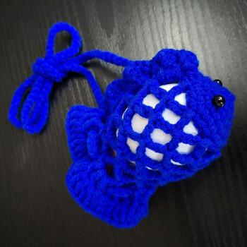 蛋袋蛋兜 鸡蛋鸭蛋通用 diy手工编织 (立夏端午节金鱼