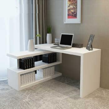 超大储物空间 多功能实用性强!即可当书桌又可当书架,左右旋转方向