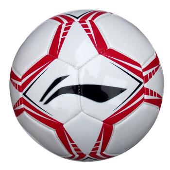 李宁 lining  PVC 足球 训练比赛 机缝耐磨 标准5号球 LGQH002-1