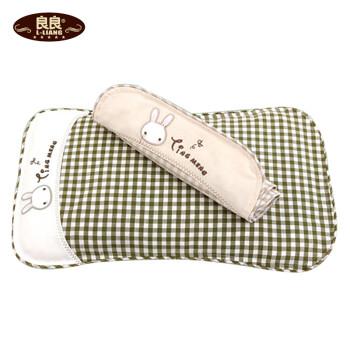 良良 听梦婴儿枕头 0-5岁 宝宝儿童婴儿定型枕防偏头 双枕套