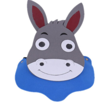 幼儿园卡通遮阳帽eva帽亲子活动道具帽动物头饰西游记