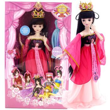 女孩叶罗丽娃娃衣服公主娃娃叶罗丽娃60厘米冰公主长发公主夜萝莉娃娃