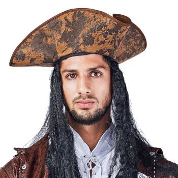 lanqincosplay加勒比海盗帽子海盗刀配件海盗旗眼罩弯刀帽塑料金币