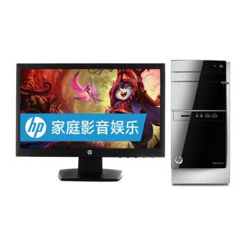 惠普(HP)500-531cn 台式电脑(i3-4160 4G 500G GeForce GT705 1G独显 Win8.1)18.5英寸显示器