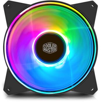 酷冷至尊(CoolerMaster)MasterFan MF120R ARGB机箱风扇套裝(均衡型风扇x3/配控制器/A