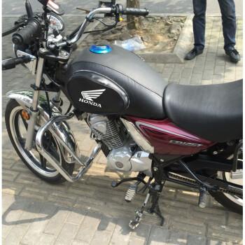 有嘉陵70摩托油箱本田标吗_适用于摩托车油箱套新大洲本田锐猛sdh125-56专用油箱