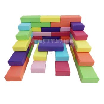 幼儿园活动区角区域建构早教玩具大型eva积木淘气堡儿童泡沫砖块 7