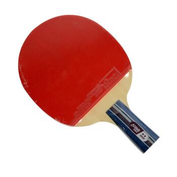 红双喜(DHS)二星级双面反胶乒乓球拍 A2006-直拍 (送红双喜精美拍套)