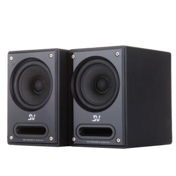 索威(SV) M5超值 迷你音响 桌面便携音响(黑色)